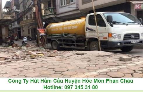 Bảng giá chi phí rút hầm cầu ở huyện Hóc Môn