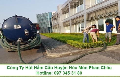 Dịch vụ rút hầm cầu ở xã Đông Thạnh Huyện Hóc Môn chuyên nghiệp