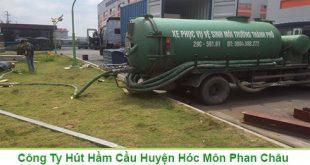 Biện pháp rút hầm cầu ở xã Tân Hiệp Huyện Hóc Môn