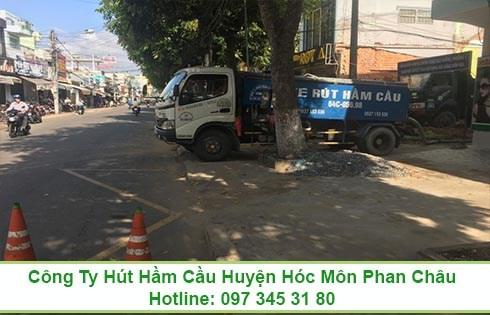 Quy trình rút hầm cầu ở Xã Xuân Thới Thượng Huyện Hóc Môn
