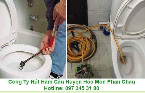 Thông Bồn Cầu Toilet Nghẹt Huyện Hóc Môn Gía Rẻ 0973453180