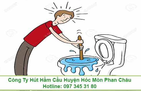 Thông bồn cầu toilet huyện Nhà Bè giá rẻ 90K 0973453180