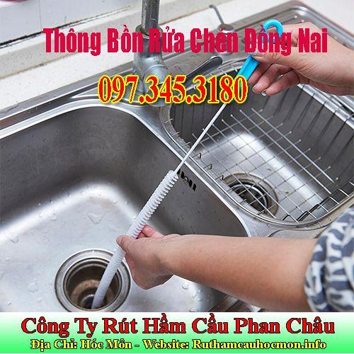 Thông Bồn Rửa Chén Đồng Nai Giảm 20% Cho Lần Đầu Dùng Dịch Vụ.