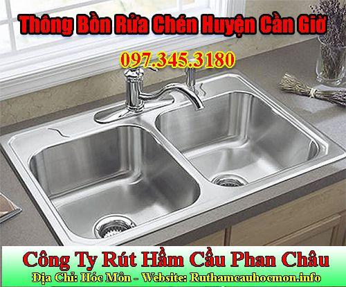 Thông Bồn Rửa Chén Huyện Cần Giờ Giảm 90K Nhanh Chóng