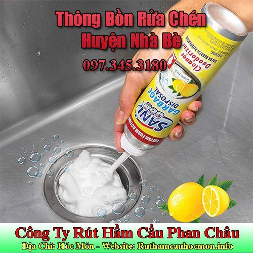 Thông Bồn Rửa Chén Huyện Nhà Bè Giảm Giá 20% Bảo Hành 6 Tháng