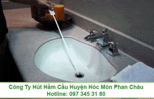 Thông tắc bồn rửa chén bát Huyện Bình Chánh 0973453180
