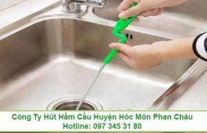 Thông tắc bồn rửa chén bát Long An giá 99K 0973453180