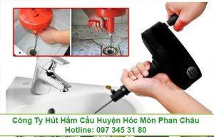 Thông tắc bồn rửa chén bát Quận 4 giá 99K 0973453180