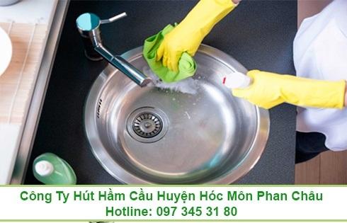 Thông tắc bồn rửa chén bát Quận 6 giá 99K 0973453180