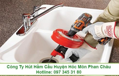 Thông tắc bồn rửa chén bát Quận Gò Vấp 0973453180