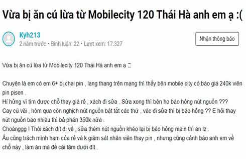 Thực tế MobileCity có tốt không hay lừa đảo.