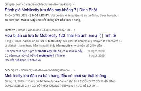Mobilecity có lừa đảo bán hàng điểu hay không xem ngay ?