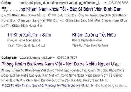 Review Phòng Khám Đa Khoa Nam Việt.