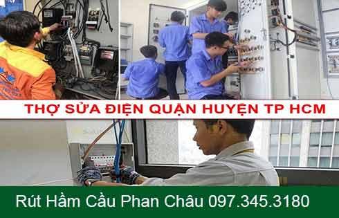 Dịch vụ sửa điện nước tại nhà thành phố Hồ Chí Minh