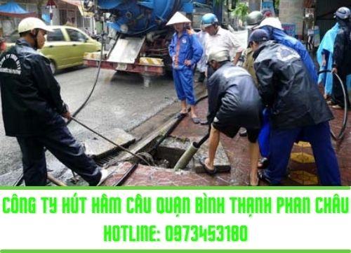 Công ty nạo vét hố ga ở quận Bình Thạnh Phan Châu