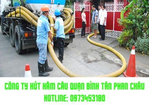 Rút hầm cầu quận Bình Tân tại công ty Phan Châu uy tín thế nào ?