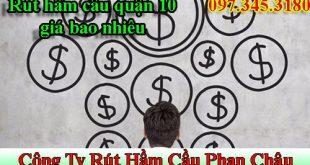 Rút hầm cầu quận 10 Phan Châu uy tin giảm 30% BH 5 năm