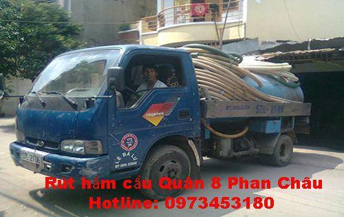 Rút hầm cầu Quận 8 Phan Châu giá 45K