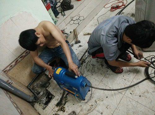 Thông cống nghẹt quận 4 Phan Châu giảm 30% chi phí BH 2 năm