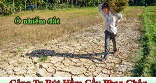 Ô nhiễm đất là gì?