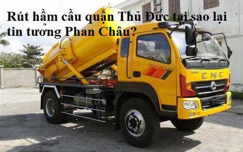 Rút hầm cầu quận Thủ Đức tại sao lại tin tưởng Phan Châu?