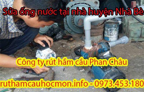 Sửa ống nước tại nhà huyện Nhà Bè hỗ trợ 24/7, BH 1 năm