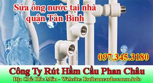 Sửa ống nước tại nhà quận Tân Bình - nguyên nhân dẫn đến hư hỏng