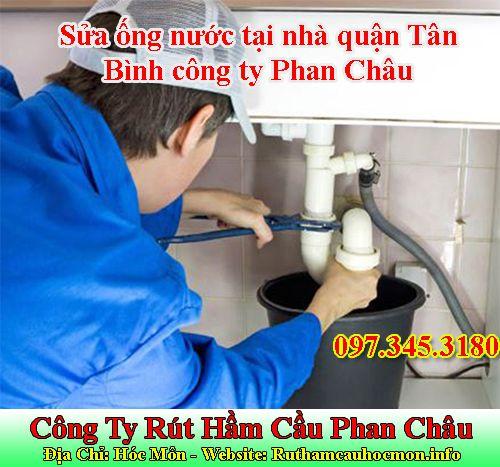 Sửa ống nước tại nhà quận Tân Bình công ty Phan Châu