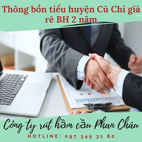Thông bồn tiểu huyện Củ Chi Phan Châu quy trình xử lý ?
