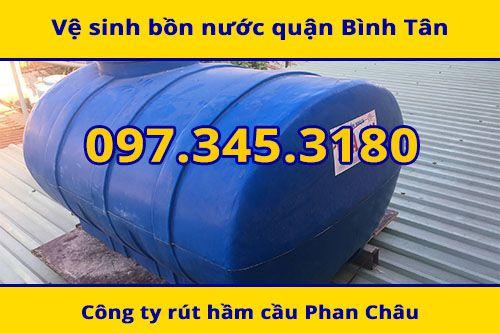 vệ sinh bồn nước nhựa