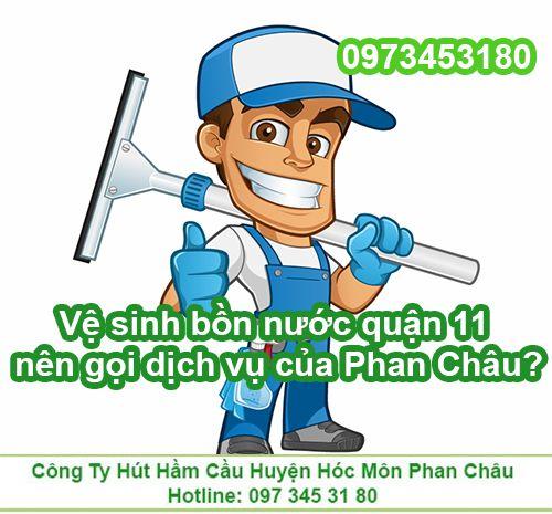 Vì sao nên chọn công ty Phan Châu để làm sạch bồn nước?