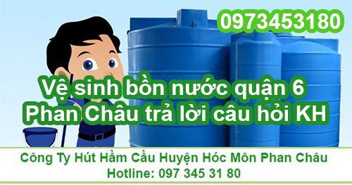Công ty Phan Châu trả lời câu hỏi của khách hàng về dịch vụ