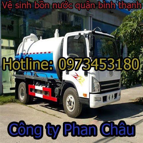 Vệ sinh bồn nước quận bình thạnh Phan Châu 59k BH 2 năm