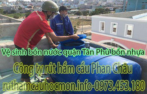 Vệ sinh bồn nước quận Tân Phú vệ sinh tại nhà được không?