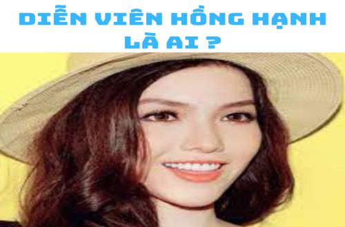 Diễn viên Hồng Hạnh là ai ?
