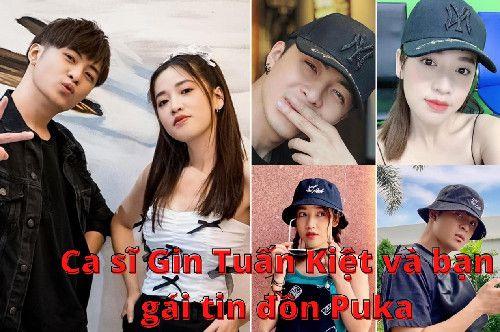 Ca sĩ Gin Tuấn Kiệt và bạn gái tin đồn Puka