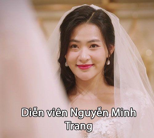 """Diễn viên Nguyễn Minh Trang trong """"Cây táo nở hoa"""""""