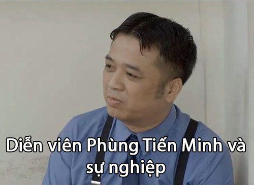 Diễn viên Phùng Tiến Minh và sự nghiệp