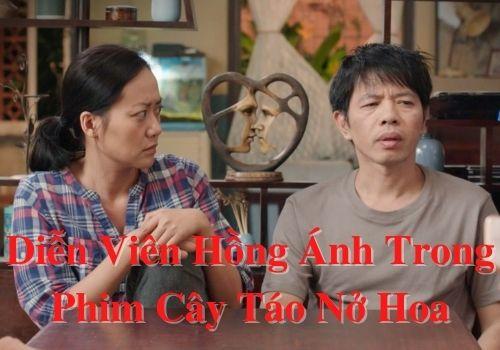 Diễn viên Hồng Ánh trong phim Cây táo nở hoa