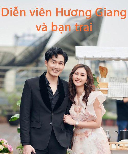 Diễn viên Hương Giang và bạn trai