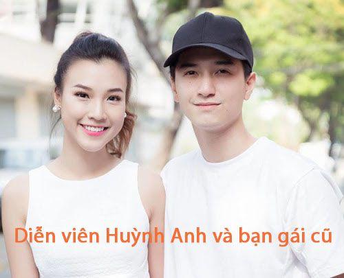Diễn viên Huỳnh Anh và bạn gái cũ