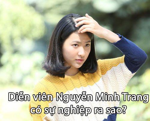 """Diễn viên Nguyễn Minh Trang trong phim """"Tình khúc Bạch Dương"""""""