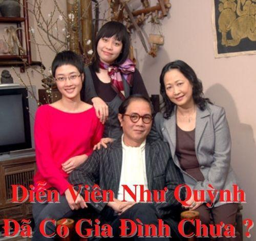 Diễn viên Như Quỳnh đã có gia đình chưa