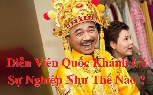 Diễn viên Quốc Khánh có sự nghiệp như thế nào