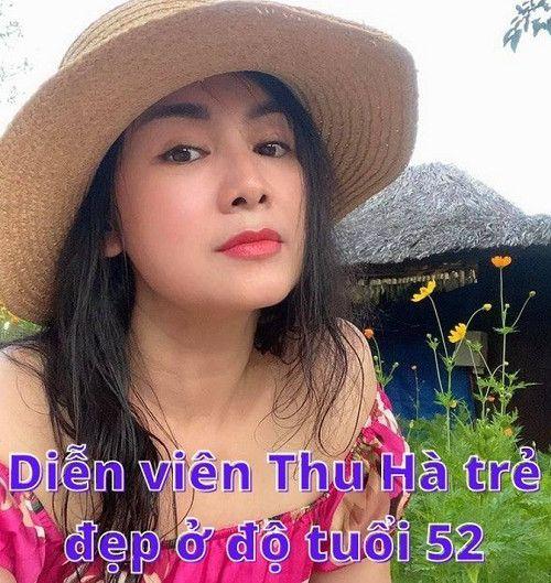 Diễn viên Thu Hà và nhan sắc trẻ đẹp ở tuổi 52